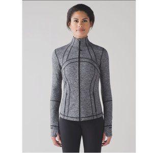 Lululemon Define Jacket Heathered Black Size 10